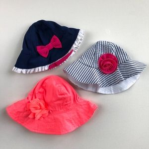 Girls Sun Hat Bundle NWOT